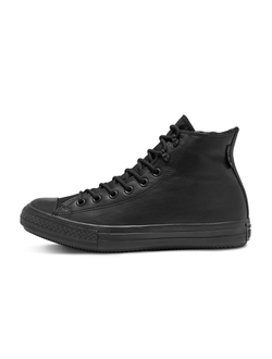 Кеды Chuck Converse Taylor All Star Winter Gore-Tex черные кожаные