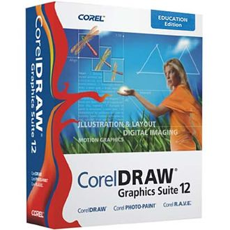 Графический пакет CorelDRAW Graphics Suite 12 Special Edition Russia BOX full version CGS12RUSPCSPC