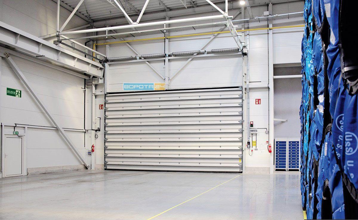 складские автоматические ворота в цех - изготовление под размер - заказ