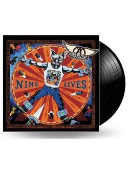 AEROSMITH - NINE LIVES 2-LP
