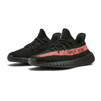 КРОССОВКИ ADIDAS YEEZY BOOST 350 V2 CORE - RED