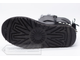 Угги UGG Australia Mini Bailey Bow Metallic Black женские арт. U80 подошва