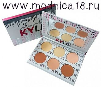 Пудра Kylie New Contour Powder Kit (6 цветов)
