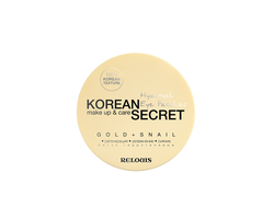 Патчи гидрогелевые KOREAN SECRET make up & care Hydrogel Eye Patches GOLD+SNAIL, 60 шт