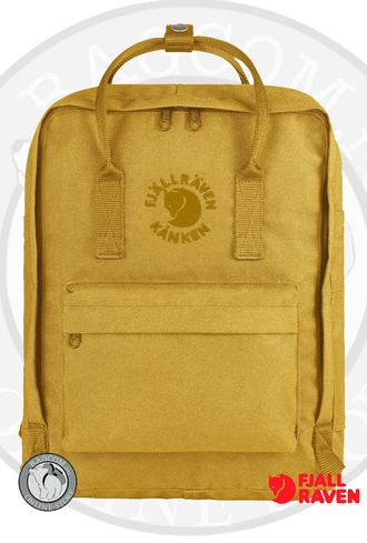 Fjallraven Re-Kanken Sunflower Yellow в интернет магазине Bagcom