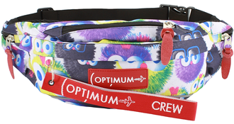 Сумка на пояс Optimum XL Print RL, пушистики