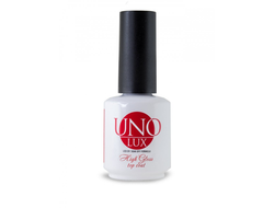 Uno Lux, Верхнее покрытие High Gloss Top Coat, 15 мл
