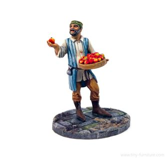Apple seller (PAINTED)
