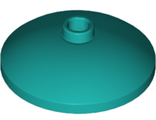 Dish 3 x 3 Inverted (Radar), Dark Turquoise (43898 / 6259424 / 6333162)