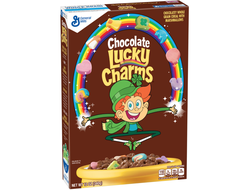 Lucky charms готовый завтрак  чоко 311гр (США)