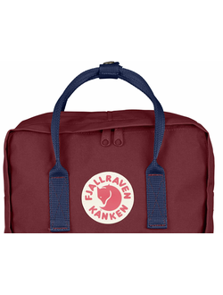 FJALLRAVEN KANKEN Ox Red Royal Blue