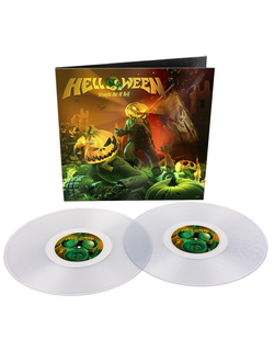 HELLOWEEN - Straight out of hell REMASTERED 2020 2-LP clear