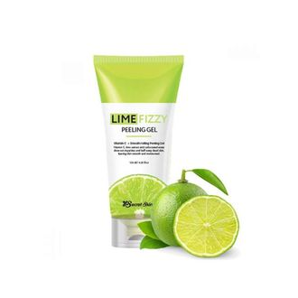 Гель-скатка  SECRETSKIN LIME FIZZY PEELING GEL 120мл
