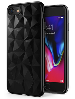 Чехол на Apple iPhone 7 и 8, Ringke серия Air Prism, цвет черный (Ink Black)