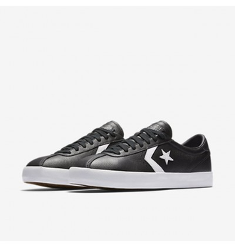 converse one star leather black 157776c