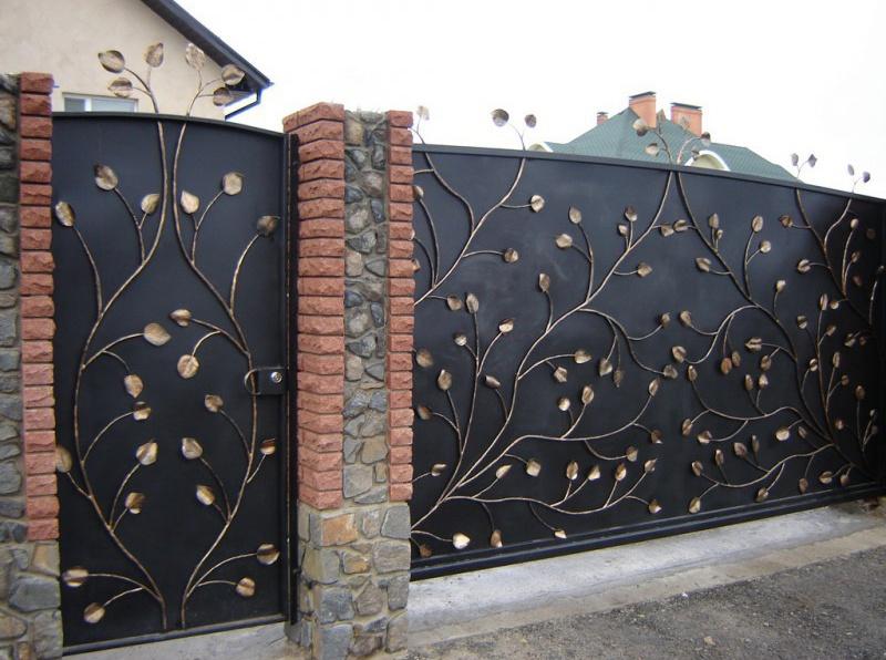 Ковка ворот в Белгороде
