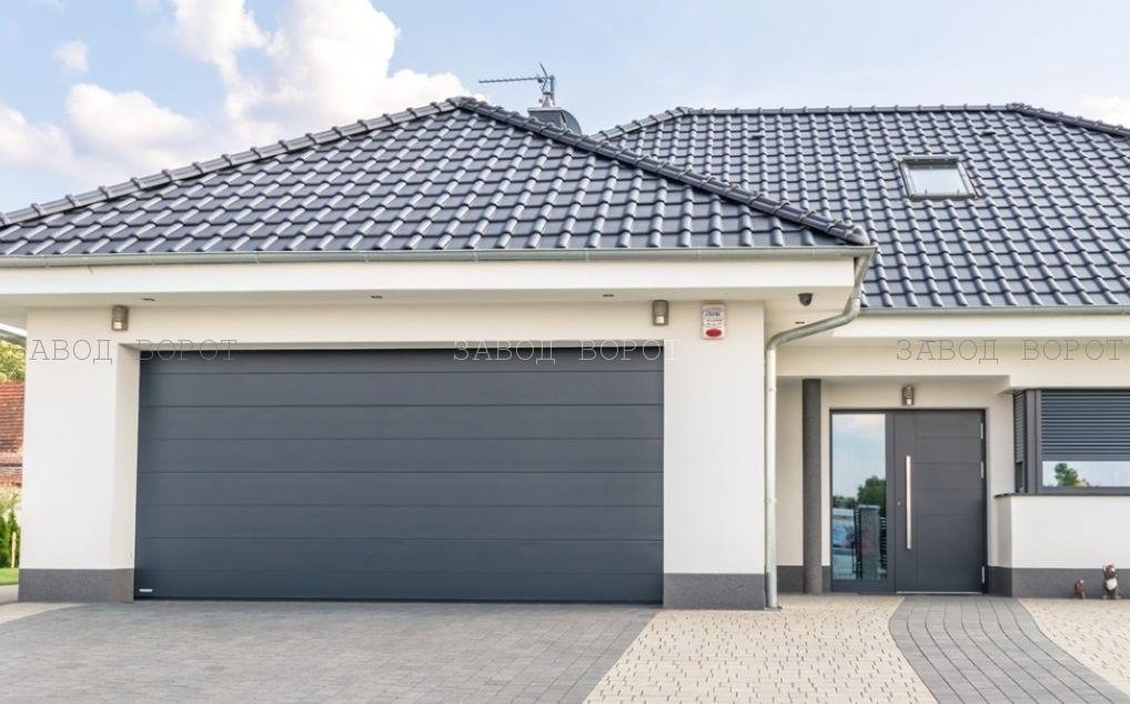 современные гаражные ворота - теплые въездные конструкции - подъемные ворота на гараж