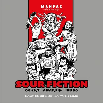 Sour Fiction, Manfas 0,33л.