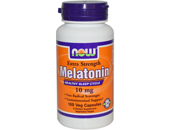 (Now) Melatonin 10 мг - (100 капс)