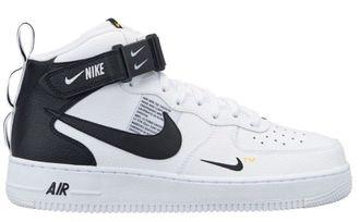 9e55230f Купить кроссовки Nike Air Force 1 '07 LV8 sport Белые с черным в СПБ