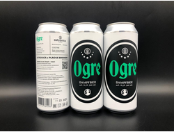 OGRE Dampfbier Collaboration with Plague Brew Дампбир 6.5% IBU 0 0,5л (180) Ostrovica в банке