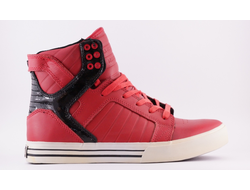 Кроссовки Supra Skytop Red Black