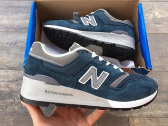 Кроссовки New Balance 997 Blue/Gray сетка