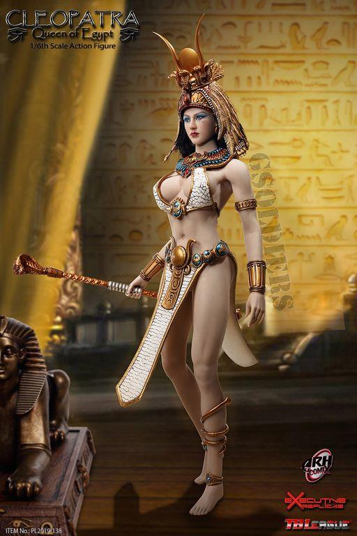 "TBLeague PL2019-138 1//6 Scale Cleopatra Queen of Egypt 12/"" Action Figure Sphinx"