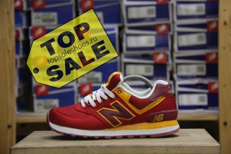 New Balance 574 Passport Pack Red