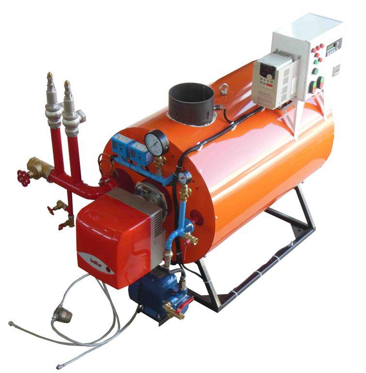 промышленный парогенератор на газу