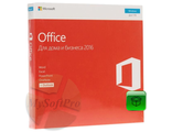 Microsoft Office 2016 Home and Business Russian DVD No Skype P2 T5D-02705 (rep. T5D-02292) + WZ19STDML