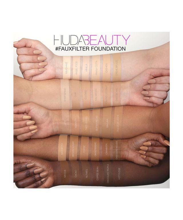Тональная основа HUDA BEAUTY #FauxFilter