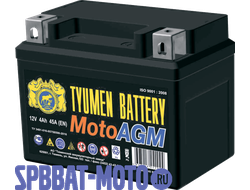 Аккумулятор TYUMEN BATTERY 6MTС-4 AGM