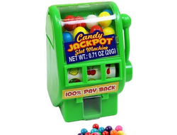 Диспенсер JACKPOT MACHINE CANDY 20г