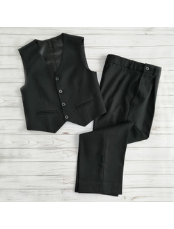 Костюм брюки школьные с жилетом (Артикул 3476)