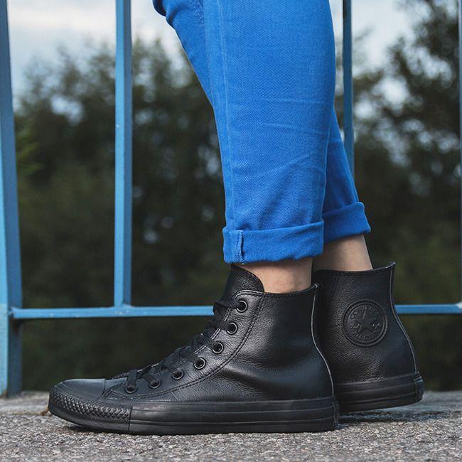 Картинки по запросу кожаные converse на ноге