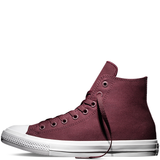 converse Deep Bordeaux сбоку