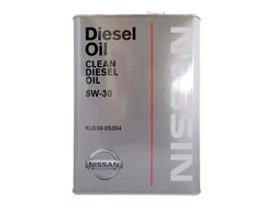 Nissan Clean Diesel Oil 5W30 DL-1   (4л)