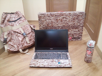 MSI GE62 7RE CAMO SQUAD Limited Edition ( 15.6 FHD ips i7-7700HQ GTX1050ti 16Gb 1Tb + 256SSD )
