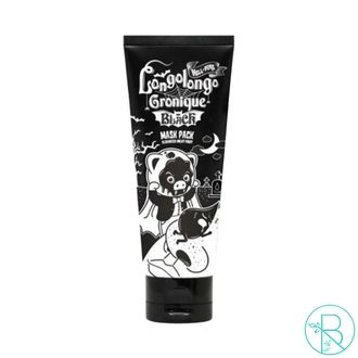 Маска-плёнка Elizavecca Hell-Pore Longolongo Gronique Black Mask Pack с древесным углем