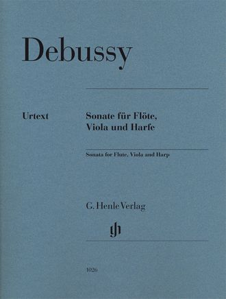 Debussy Sonata for Flute, Viola and Harp