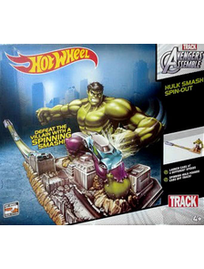Трасса трек Хот Вилс | Hot Wheels Hulk в магазине shopbabytoys.ru