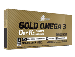 Olimp Gold Omega 3 Sport Edition, 60 капсул