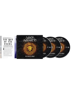 Amon Amarth The Pursuit Of Vikings: 25 Years In The Eye Of The Storm 2-DVD+CD