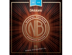 D'Addario NB1253 Nickel Bronze (12-53)