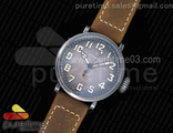 Pilot Type 20 Extra Special 40mm Aged SS Case Brown