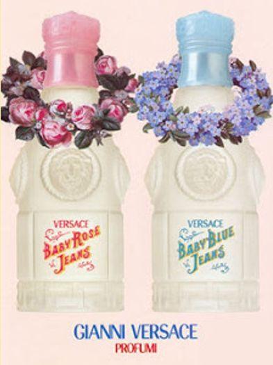Versace Baby Blue Jeans  туалетная вода купить детская парфюмерия для девочек для мальчиков