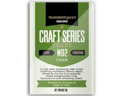 Дрожжи Cider M02 - Mangrove Jack's Craft Series Yeast