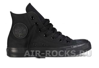 CONVERSE ALL STAR HI TOP MONO BLACK (Euro 36-40) M3310