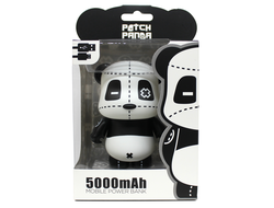Power Bank Patch Panda Q11-P 5000 mAh черно-белый